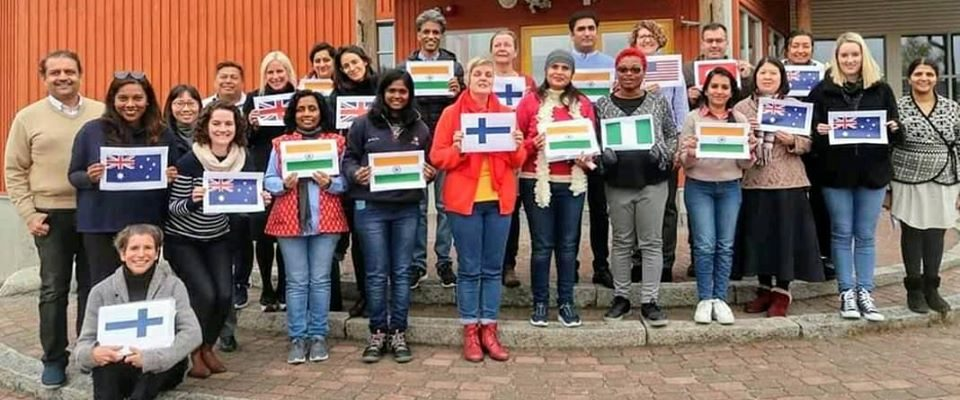Representing India In Finland